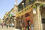 Israel, Nahalat Shiv'a  neighborhood in Jerusalem