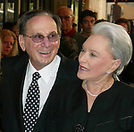 HAL DAVID and his wife.Attending the Opening Night Performance of THE.LOOK OF LOVE ... THE SONGS OF BURT BACHARACH .and HAL DAVID at the Brooks Atlinson Theater,.New York City..May 4, 2003.