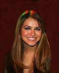 All My Children's Chrishell Stause & J.R. Martinez came to see fans on November 22, 2009 at the Brokerage Comedy Club & Vaudeville Cafe, Bellmore, NY for a Q & A, autographs and photos. (Photo by Sue Coflin/Max Photos)