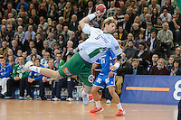 Manuel Späth (FAG) im Sprungwurf, zieht ab