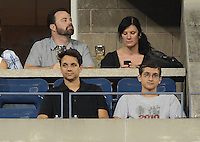 FLUSHING NY- SEPTEMBER 1: Actor Ralph Macchio watching Ana Ivanovic Vs Sloane Stephens on Arthur Ashe stadium at the USTA Billie Jean King National Tennis Center on September 1, 2012 in in Flushing Queens. © mpi04/MediaPunch Inc