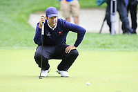 Jorge Campillo (ESP) on the 10th green during Saturday's storm delayed Round 2 of the Andalucia Valderrama Masters 2018 hosted by the Sergio Foundation, held at Real Golf de Valderrama, Sotogrande, San Roque, Spain. 20th October 2018.<br /> Picture: Eoin Clarke | Golffile<br /> <br /> <br /> All photos usage must carry mandatory copyright credit (&copy; Golffile | Eoin Clarke)