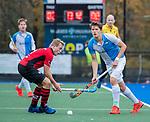 ZEIST-   Roderic Schwirtz (Hurley) met Bas van Dedem (Schaerweijde)  . promotieklasse hockey heren, Schaerweijde-Hurley (4-0)  COPYRIGHT KOEN SUYK