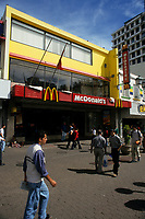 Costa Rica - file Photo -San Jose, mc donald fast food restaurant