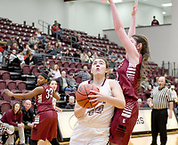 Bud Sullins/Special to the Herald-Leader<br /> Siloam Springs sophomore Mia Hevener goes in for a shot against Beebe during last Friday's game. The Lady Panthers hosted Alma on Tuesday. Results were not available at presstime. Siloam Springs plays at Greenbrier this Friday in 5A-West Conference action.