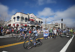 Supporters of the Carson City Off-Road mountain bike race ride in the annual Nevada Day parade in Carson City, Nev. on Saturday, Oct. 29, 2016. <br />
