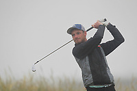 Stephen Coulter (Warrenpoint) on the 1st tee during Round 1 - Matchplay of the North of Ireland Championship at Royal Portrush Golf Club, Portrush, Co. Antrim on Wednesday 11th July 2018.<br /> Picture:  Thos Caffrey / Golffile