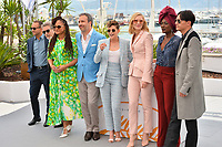 Lea Seydoux, Andrey Zvyagintsev, Robert Guediguian, Ava Duvernay, Denis Villeneuve, Kristen Stewart, Cate Blanchett, Khadja Nin &amp; Chang Chen at the photocall for the Cannes Jury at the 71st Festival de Cannes, Cannes, France 08 May 2018<br /> Picture: Paul Smith/Featureflash/SilverHub 0208 004 5359 sales@silverhubmedia.com