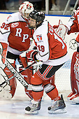 (Merriam) Patrick Cullen (RPI - 19) - The visiting Rensselaer Polytechnic Institute Engineers tied their host, the Northeastern University Huskies, 2-2 (OT) on Friday, October 15, 2010, at Matthews Arena in Boston, MA.