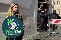 Cannabis legale, Flash mob dei Radicali