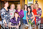 Mary Ann Mangan, from Duagh seated celebrated her birthday with friends at Leen's Hotel Abbeyfeale  on saturday night,  pictured with mary Ann are fom l-r Breda walsh, Emer O' Connor, Marie Sugrue, Juliet Murphy, Nula Sherrdan, Louise Sugrue and Jean Collins..   Copyright Kerry's Eye 2008