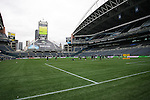 21 November 2009:  The Los Angeles Galaxy held a training session at Qwest Field in Seattle, Washington in preparation for playing Real Salt Lake in Major League Soccer's championship game, MLS Cup 2009, the following day.