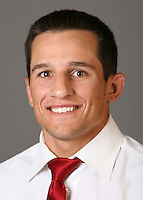 STANFORD, CA - SEPTEMBER 18:  Vic Moreno of the Stanford Cardinal wrestling team poses for a headshot on September 18, 2008 in Stanford, California.