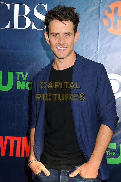 17 July 2014 - West Hollywood, California - Joey McIntyre. CBS, CW, Showtime Summer Press Tour 2014 held at The Pacific Design Center. <br /> CAP/ADM/BP<br /> &copy;Byron Purvis/AdMedia/Capital Pictures