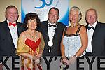 l-r: Flan garvey (Chairman), Carmel Keane, Ted Fitzgerald (Tralee Lord Mayor), Mairead garvey and Noel Keane ..  all sat nite ball itt   Copyright Kerry's Eye 2008