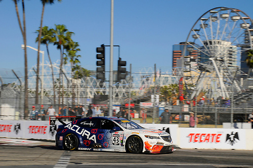 15-17 April, 2016, Long Beach, California, USA<br /> #43 Ryan Eversley, Acura TLX-GT<br /> © 2016, Jay Bonvouloir, ESCP