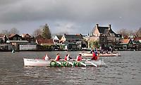 Nederland - Zaanstad- Koog aan de Zaan- 2020.  Winter Snert Sprint Race. Sloepenrace. Foto Berlinda van Dam / Hollandse Hoogte