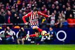 Santiago Arias of Atletico de Madrid controls the ball during the La Liga 2018-19 match between Atletico Madrid and FC Barcelona at Wanda Metropolitano on November 24 2018 in Madrid, Spain. Photo by Diego Souto / Power Sport Images