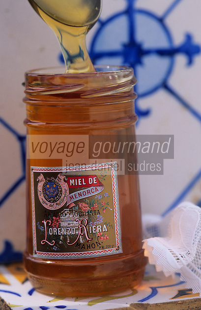 Europe/Espagne/Baléares/Minorque : Miel de l'île
