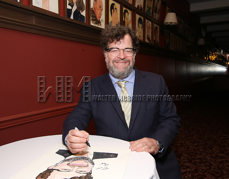Kenneth Lonergan attends the unveiling of the Kenneth Lonergan caricature at Sardi's on February 17, 2017 in New York City.