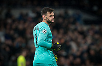 Goalkeeper Hugo Lloris of Spurs during the UEFA Champions League group match between Tottenham Hotspur and Bayern Munich at Wembley Stadium, London, England on 1 October 2019. Photo by Andy Rowland.