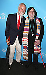 David Webster and Larry Kramer attends the Broadway Opening Night of 'An Act of God'  at Studio 54 on May 28, 2015 in New York City.