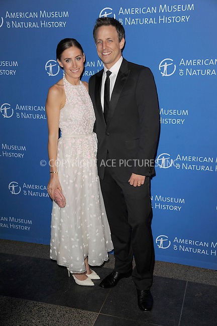 WWW.ACEPIXS.COM <br /> November 21, 2013 New York City<br /> <br /> Alexi Ashe and Seth Meyers attending the American Museum of Natural History's 2013 Museum Gala at American Museum of Natural History on November 21, 2013 in New York City.<br /> <br /> Please byline: Kristin Callahan  <br /> <br /> ACEPIXS.COM<br /> Ace Pictures, Inc<br /> tel: (212) 243 8787 or (646) 769 0430<br /> e-mail: info@acepixs.com<br /> web: http://www.acepixs.com