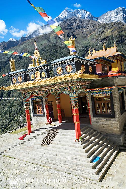 The Thamo Monastery, Nepal.