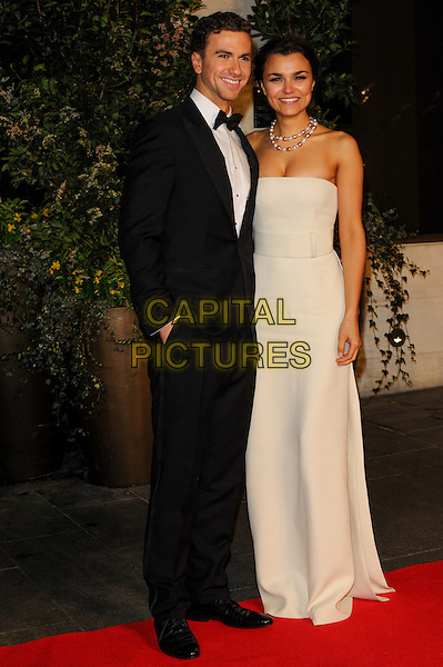 LONDON, ENGLAND - FEBRUARY 16: Richard Fleeshman and Samantha Barks attends EE British Academy Film Awards afterparty at the Grosvenor Hotel on February 16, 2014 in London, England. <br /> CAP/CJ<br /> &copy;Chris Joseph/Capital Pictures