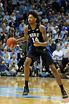 17 February 2016: Duke's Brandon Ingram. The University of North Carolina Tar Heels hosted the Duke University Blue Devils at the Dean E. Smith Center in Chapel Hill, North Carolina in a 2015-16 NCAA Division I Men's Basketball game. Duke won the game 74-73.
