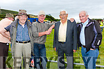 Ring side at the Cahersiveen Races on Sunday were l-r; Tom Browne, Jim Scriven, Paddy Cournane & Tom Healy.