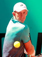 Kevin Anderson, South African Republic, during Madrid Open Tennis 2018 match. May 10, 2018.(ALTERPHOTOS/Acero) /NORTEPHOTOMEXICO
