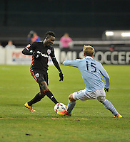 Washington, D.C. - March 4, 2017: D.C. United tied Sporting Kansas City 0-0 during their Major League Soccer (MLS) home opener match at RFK Stadium.