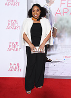 """07 March 2019 - Westwood, California - Kimberly Herbert Gregory. """"Five Feet Apart"""" Los Angeles Premiere held at the Fox Bruin Theatre. Photo Credit: Birdie Thompson/AdMedia"""