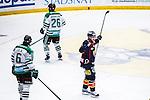 Stockholm 2014-03-27 Ishockey Kvalserien Djurg&aring;rdens IF - R&ouml;gle BK :  <br /> Djurg&aring;rdens Joakim Eriksson jublar efter att ha gjort 2-1<br /> (Foto: Kenta J&ouml;nsson) Nyckelord:  DIF Djurg&aring;rden R&ouml;gle RBK Hovet jubel gl&auml;dje lycka glad happy