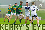 Kerry in action against Denis McElligott IT Tralee in the McGrath cup at Austin Stack Park on Sunday.