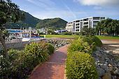 Waterfront walk Picton, Marlborough region, South Island, New Zealand.