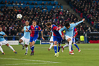 Manchester City's Ilkay Gundogan scores the opening goal <br /> <br /> Photographer Craig Mercer/CameraSport<br /> <br /> UEFA Champions League Round of 16 First Leg - Basel v Manchester City - Tuesday 13th February 2018 - St Jakob-Park - Basel<br />  <br /> World Copyright &copy; 2018 CameraSport. All rights reserved. 43 Linden Ave. Countesthorpe. Leicester. England. LE8 5PG - Tel: +44 (0) 116 277 4147 - admin@camerasport.com - www.camerasport.com