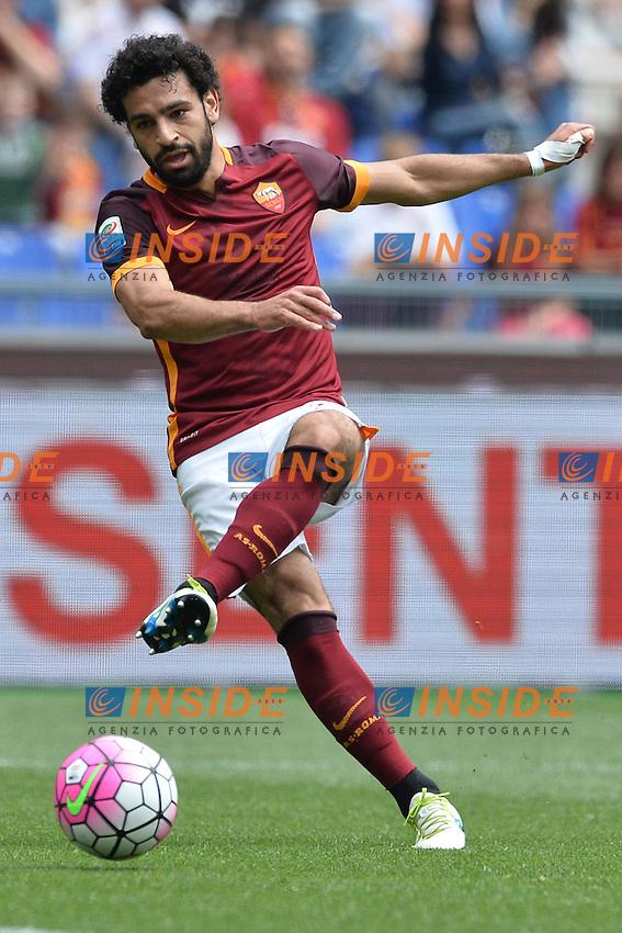 Mohamed Salah Roma.<br /> Roma 8-05-2016  Stadio Olimpico<br /> Campionato Serie A,<br /> AS Roma - Chievo<br /> Foto Antonietta Baldassarre / Insidefoto