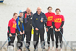 TUGOF WAR: The Tug of War team who took on locals in the water Tug of war in conjuction with the Fenit Regatta on Sunday were, Sarah kate Daly, Maeve O'Brien, Harry Freeman (manager), Brendan O'Connor (ref), Siobhan Murphy and Claire O'Connell.