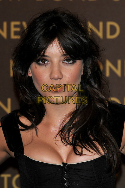 DAISY LOWE .attends the launch of the Louis Vuitton Bond Street Maison Store in London, England, UK, May 25th, 2010. .portrait headshot  black cleavage make-up  spot bad skin .CAP/PL.©Phil Loftus/Capital Pictures.