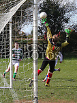 Dromin Utd U-15 Keeper Joe Gordon. Photo: Shane Maguire/pressphotos.ie