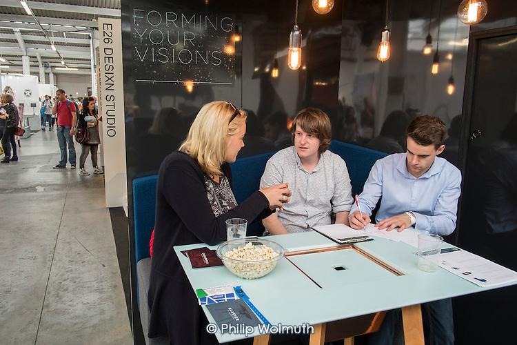 Stall at London Design Week, Truman Brewery, Brick Lane.