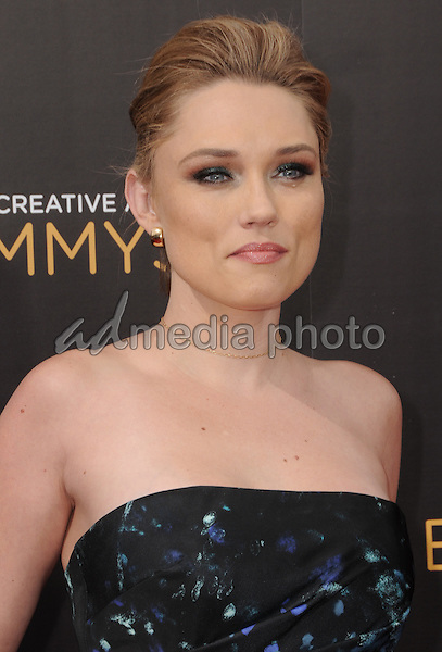 11 September 2016 - Los Angeles, California. Clare Grant. 2016 Creative Arts Emmy Awards - Day 2 held at Microsoft Theater. Photo Credit: Birdie Thompson/AdMedia