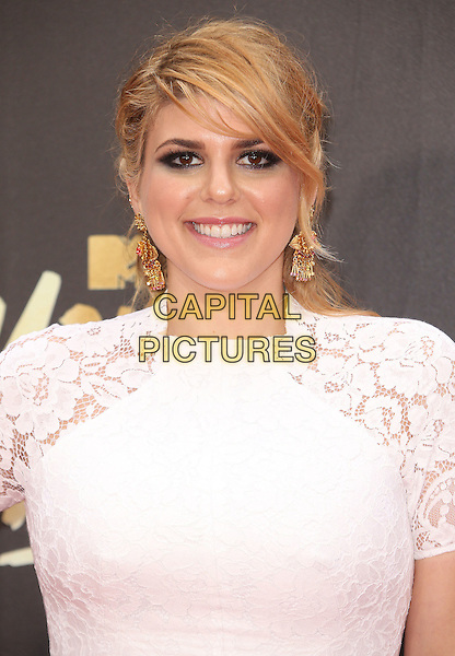 09 April 2016 - Burbank, California - Molly Tarlov. 2016 MTV Movie Awards held at Warner Bros. Studios. <br /> CAP/ADM/SAM<br /> &copy;SAM/ADM/Capital Pictures