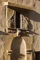Europe/France/Aquitaine/64/Pyrénées-Atlantiques/Pays Basque/ Bayonne: Détail Maison Dagourette  construite au début du 17 éme qui abrite désormais le Musée Basque