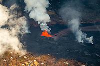 PAHOA, HI - June 2, 2018:  Fissure 8 photographed during eruption of Hawaii's Kilauea Volcano in Pahoa, HI on June 2, 2018. <br /> CAP/MPI/EKP<br /> &copy;EKP/MPI/Capital Pictures