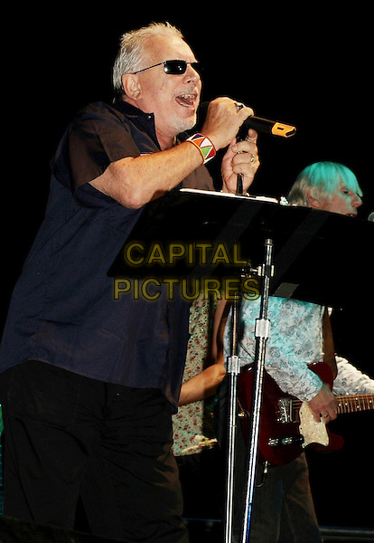 ERIC BURDON & THE ANIMALS.Rock and Roll Hall of Famer, Eric Burdon and the Animals, headlined the Festival of Friends held in Gage Park, Hamilton, Ontario, Canada, 12 August 2007..half length gig concert music band on stage live microphone .CAP/ADM/BP.©Brent Perniac/AdMedia/Capital Pictures.