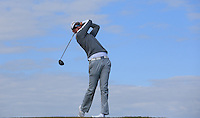 Matthew Sandy during Round Two of the West of England Championship 2016, at Royal North Devon Golf Club, Westward Ho!, Devon  23/04/2016. Picture: Golffile | David Lloyd<br /> <br /> All photos usage must carry mandatory copyright credit (&copy; Golffile | David Lloyd)