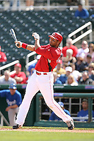 Chris Dickerson. Cincinnati Reds spring training game vs. Kansas City Royals at Goodyear Park, Goodyear, AZ - 03/07/2010.Photo by:  Bill Mitchell/Four Seam Images.